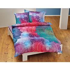 Linge de lit au motif de mandala coloré