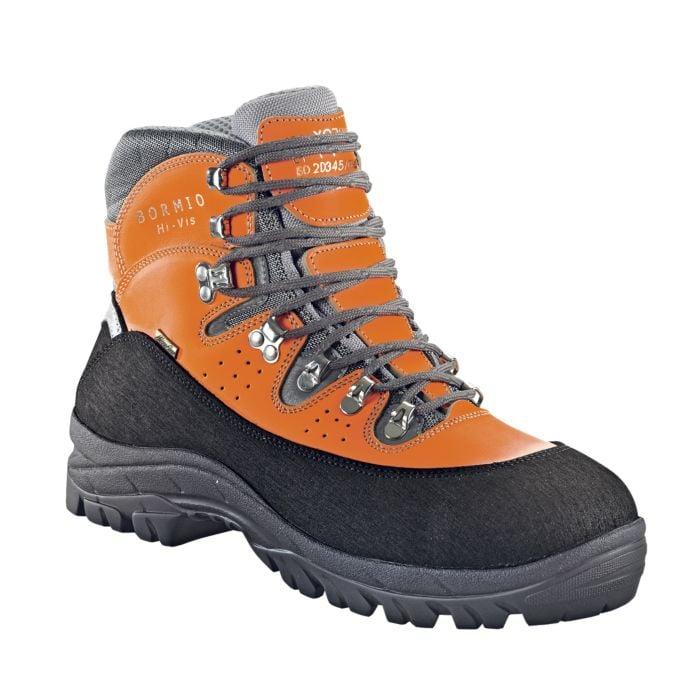 Chaussure de sécurité orange Bormio