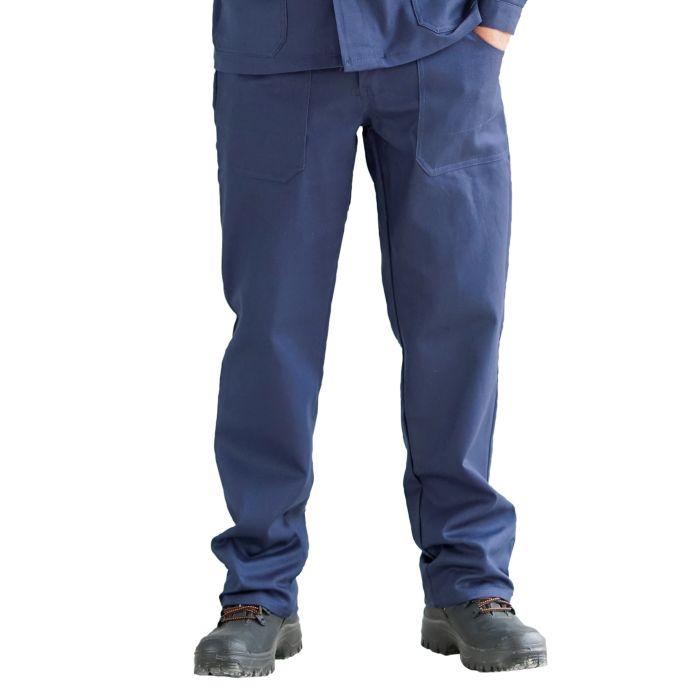 Arbeitshosen Baumwolle blau