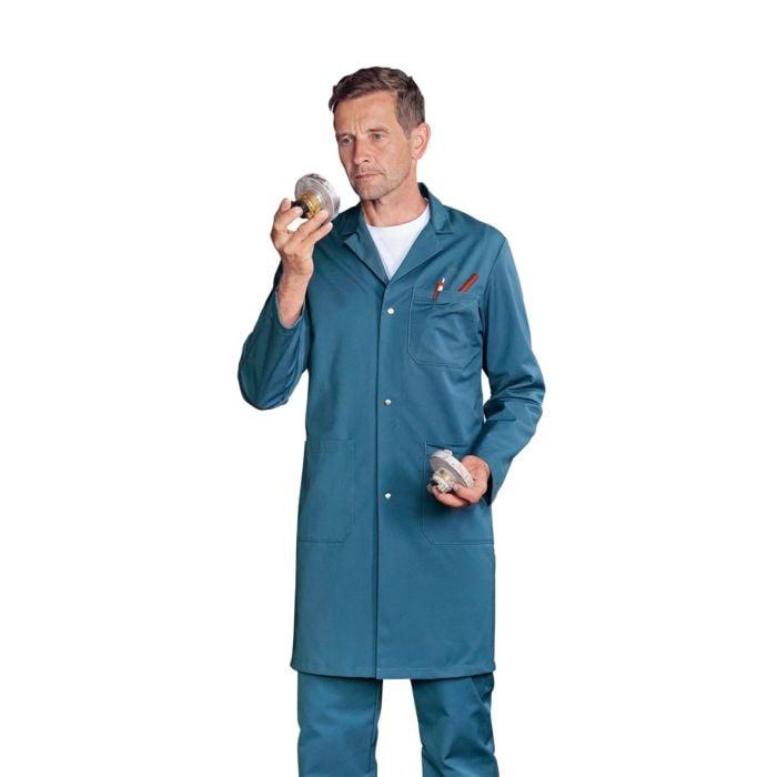 Manteau de travail en tissu mélangé