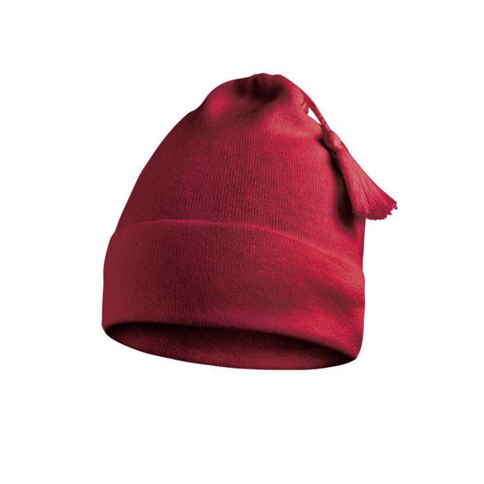 Bonnet à pompon - laine & acrylique