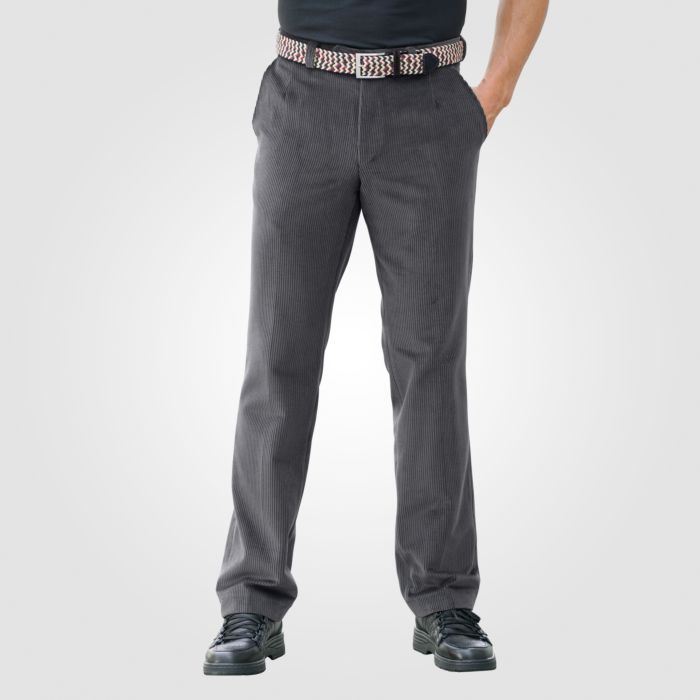 Pantalon en velours côtelé stretch
