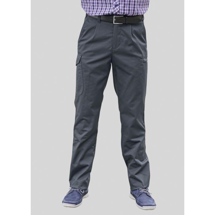 Pantalon cargo à plis de taille pour hommes