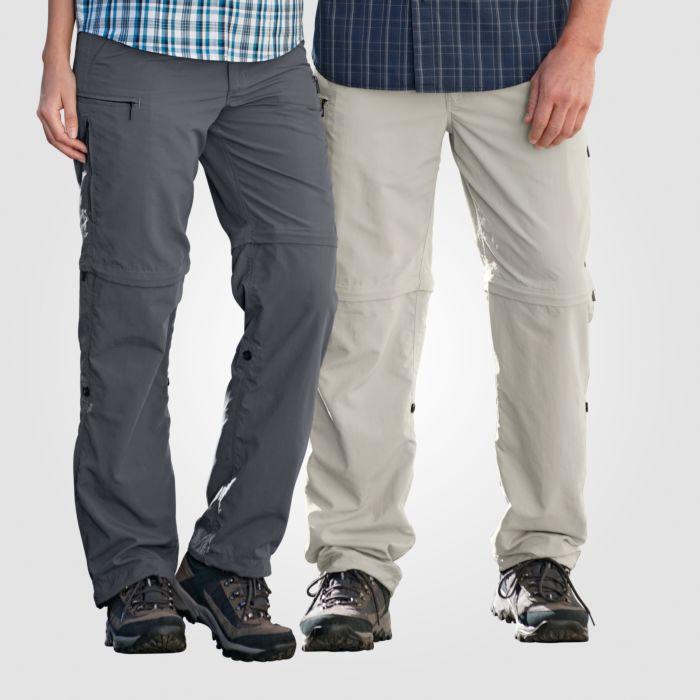 Trekkinghose mit abzippbaren Hosenbeinen