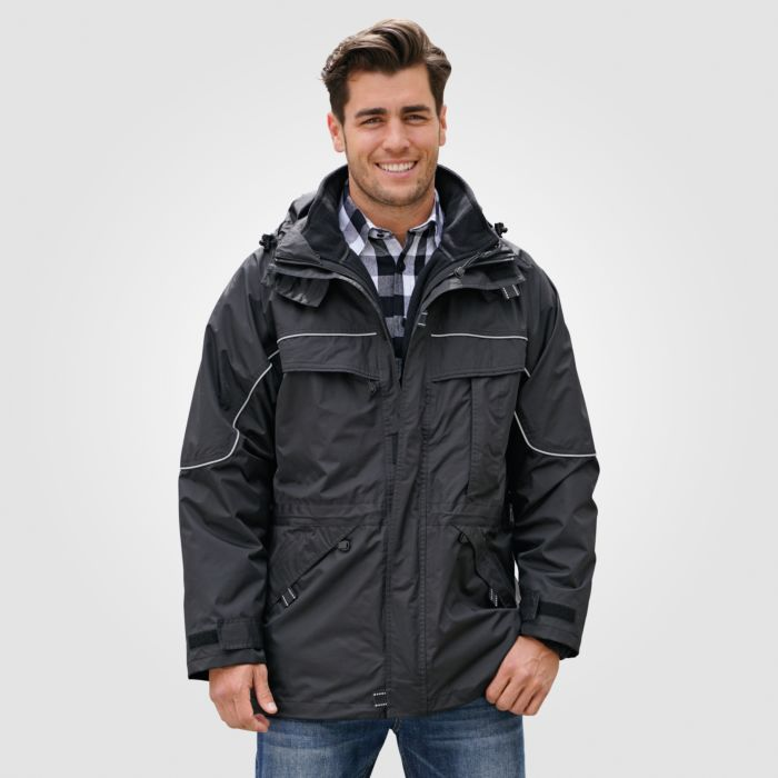 Herren Outdoor-Jacke 3 in 1