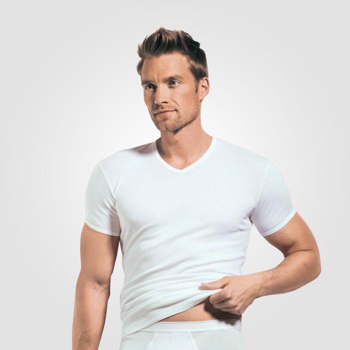 ISA T-Shirt mit V-Ausschnitt