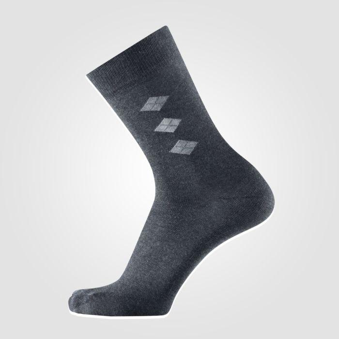 Socken mit Rhombenmuster 5er-Pack