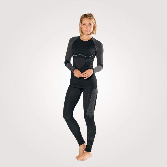 Shirt thermo Seamless à longues manches pour dames