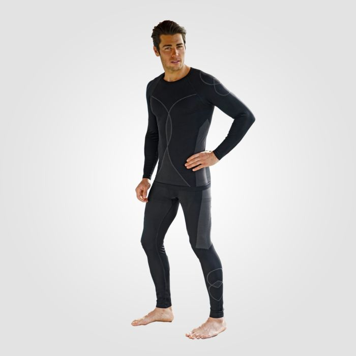 Thermoshirt Seamless à longues manches pour hommes