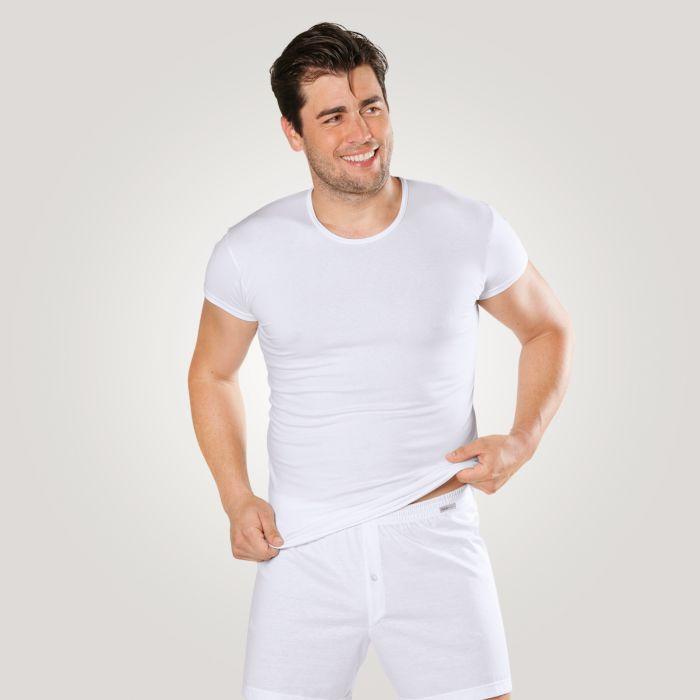 ISA Herren T-Shirt mit Elasthan