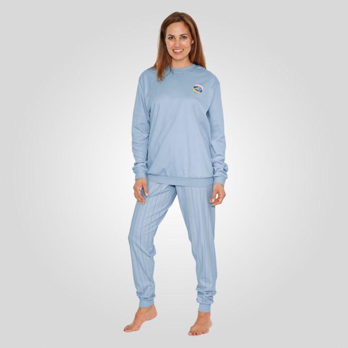 Pyjama hellblau