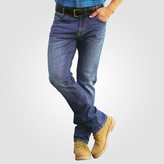 5-Pocket Jeans für Herren im Used-Look