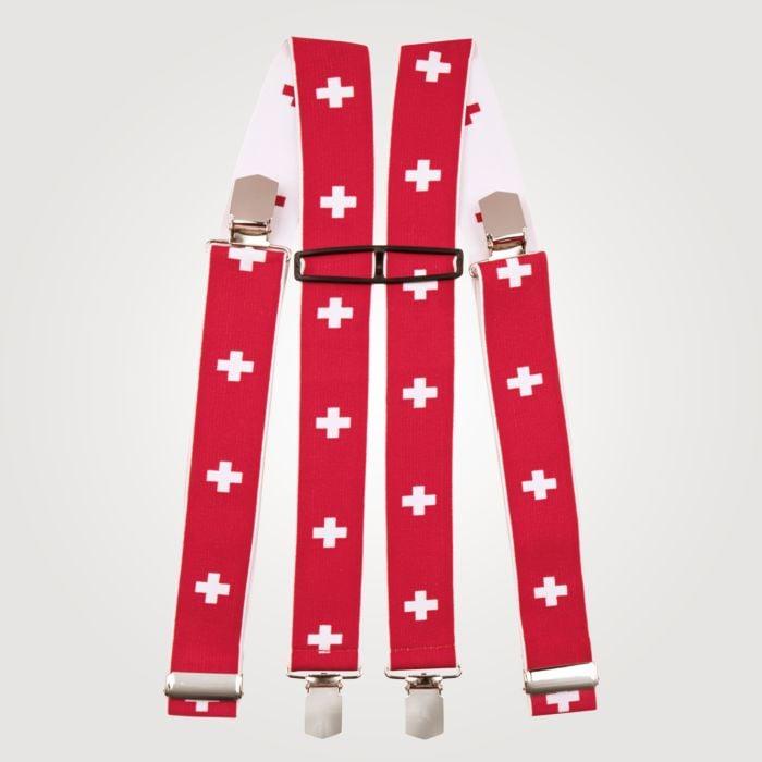 Bretelles à croix suisse