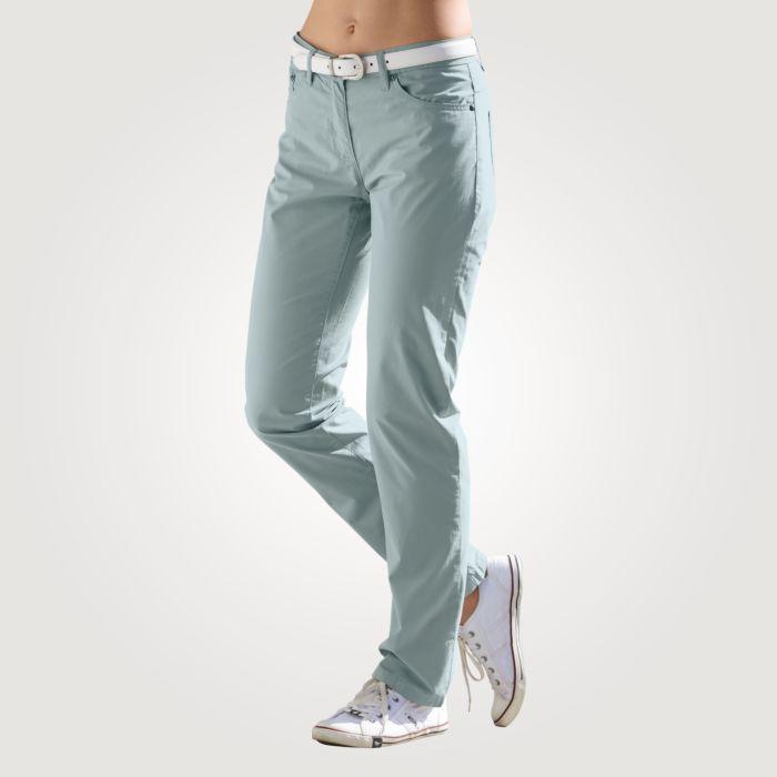 Leichte 5-Pocket Hose mit geradem Schnitt