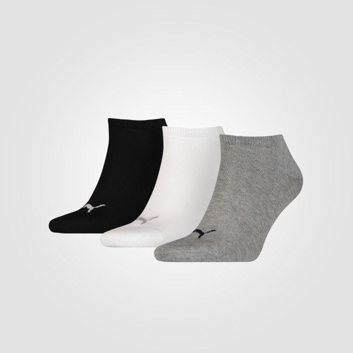 PUMA Sneaker Socken unisex 3er Pack