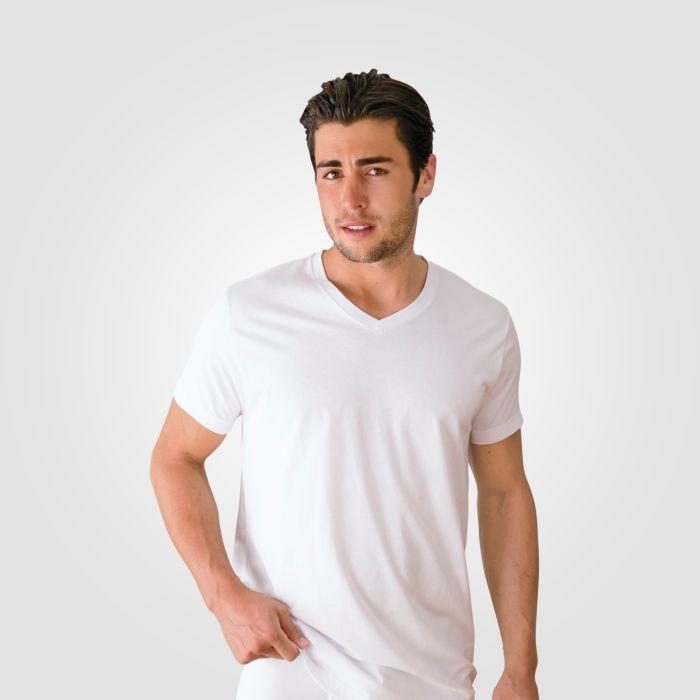 V-Neck Shirt Unterhemd 3er Pack