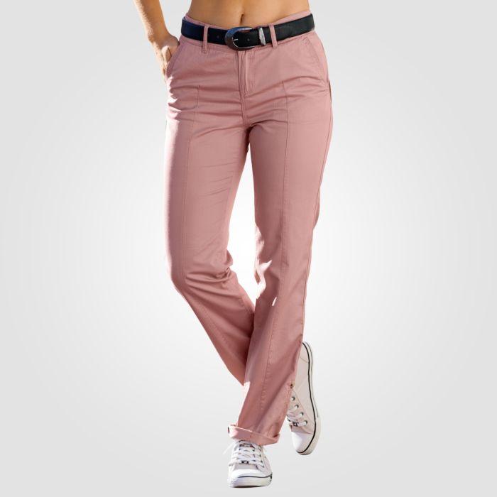 Pantalon d'été avec coutures décoratives dames