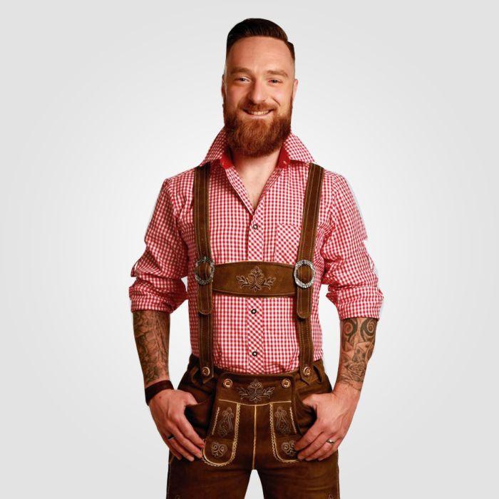 Chemise à carreaux parfaite pour la Fête de la Bière