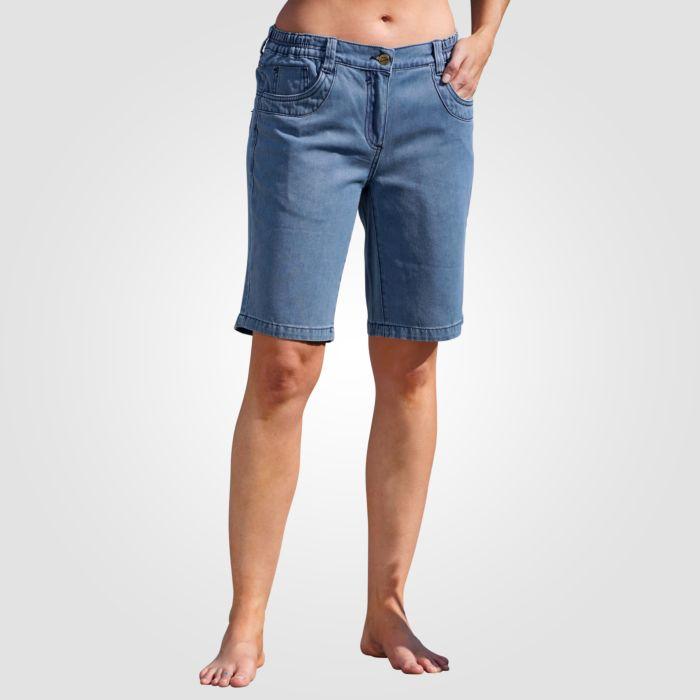 Sommerliche Damen Jeans Bermudas
