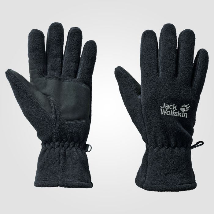 Gants Jack Wolfskin artist glove en fibre polaire