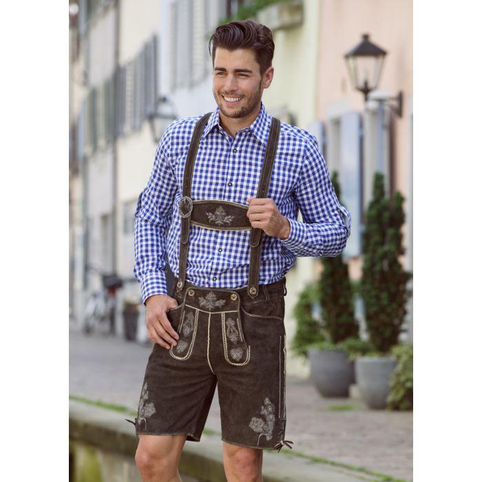 Trachten-Lederhose kurz für Herren