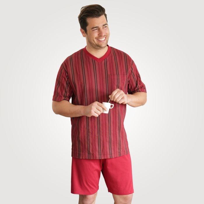 Herren Shorty-Pyjama