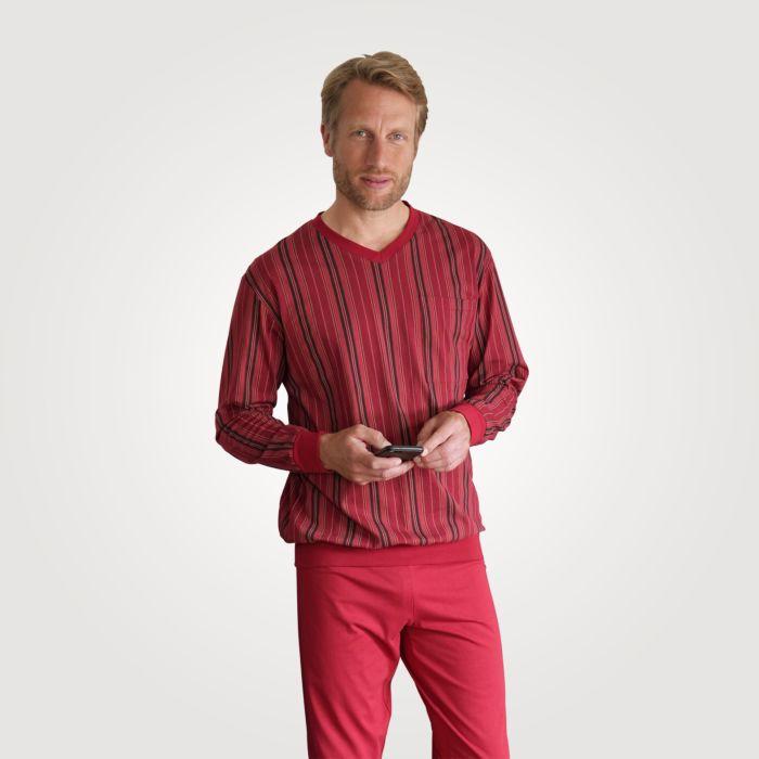 Herren Pyjama lang