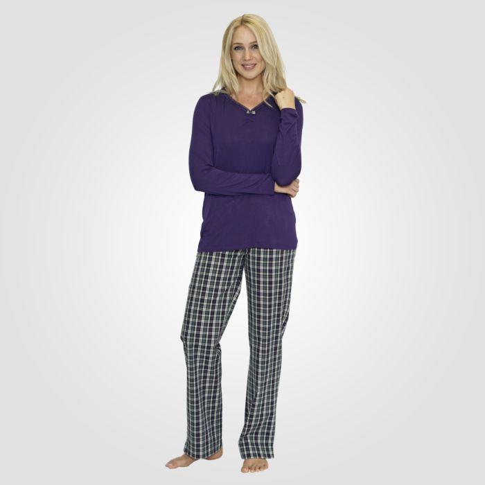 Pyjama avec encolure en V
