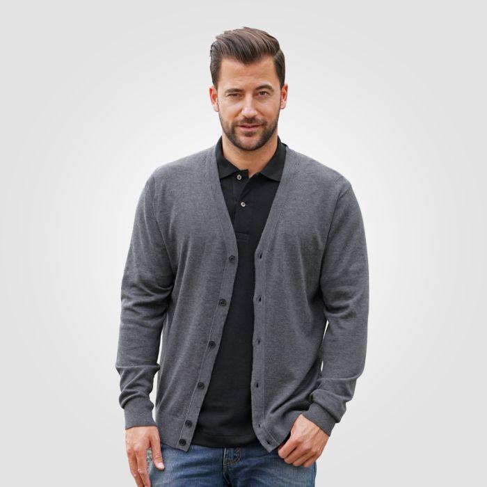 Jaquette Tommy Hilfiger en tricot avec boutonnière