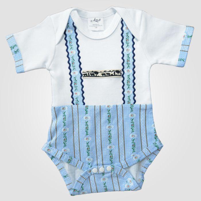 Body pour bébés avec motif d'edelweiss