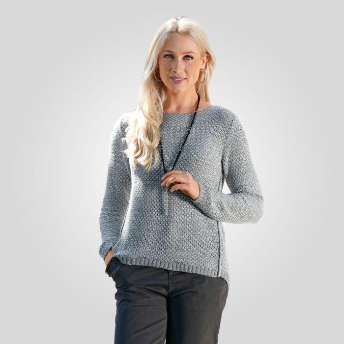 Damen Pullover in leichtem Strick