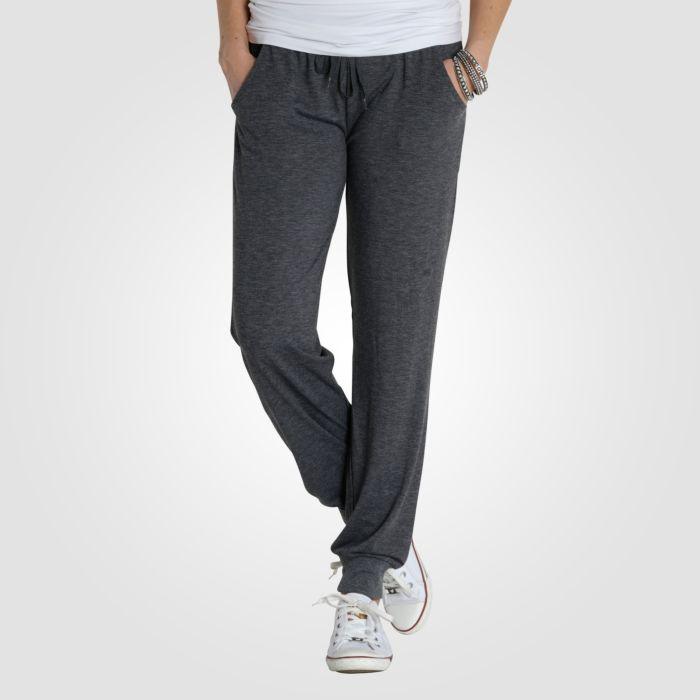 Bequeme Loungewear Hose Damen grau