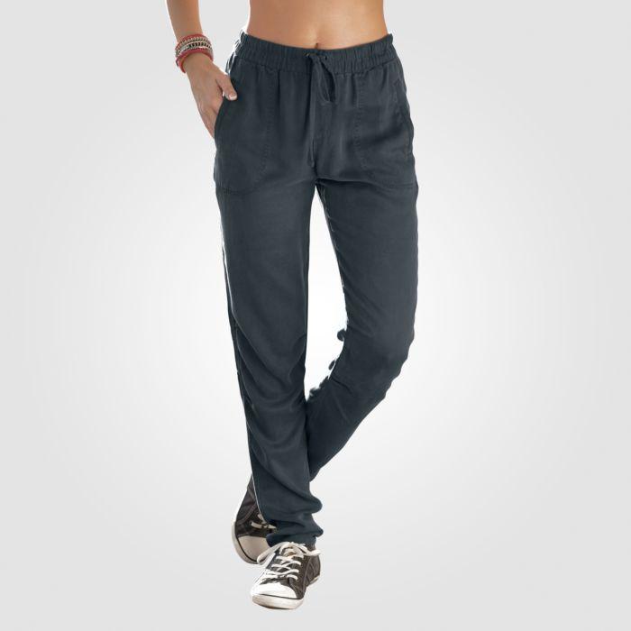 Pantalon confortable à taille élastique