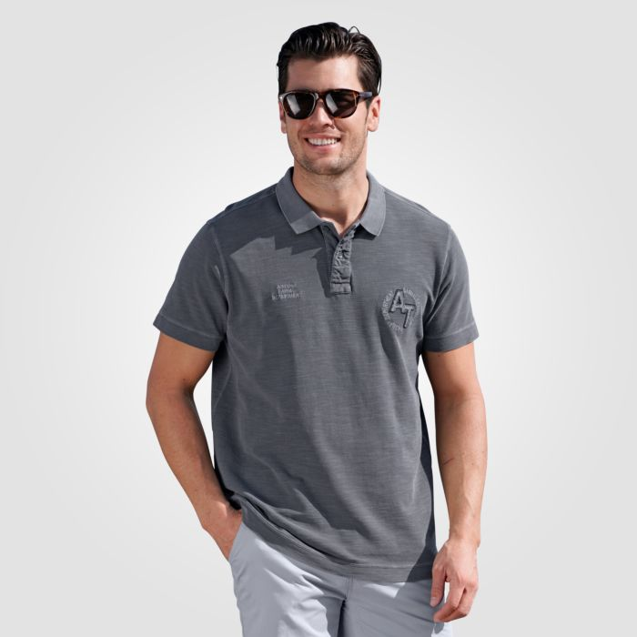 Polo-Shirt mit Stickerei