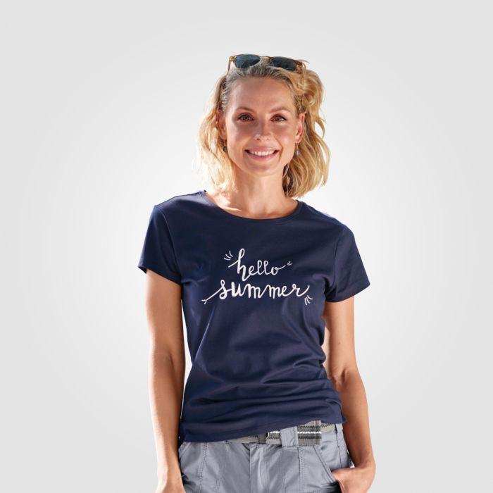 T-Shirt Damen mit Frontprint