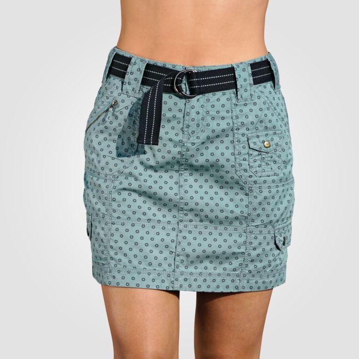 Mini-jupe imprimée