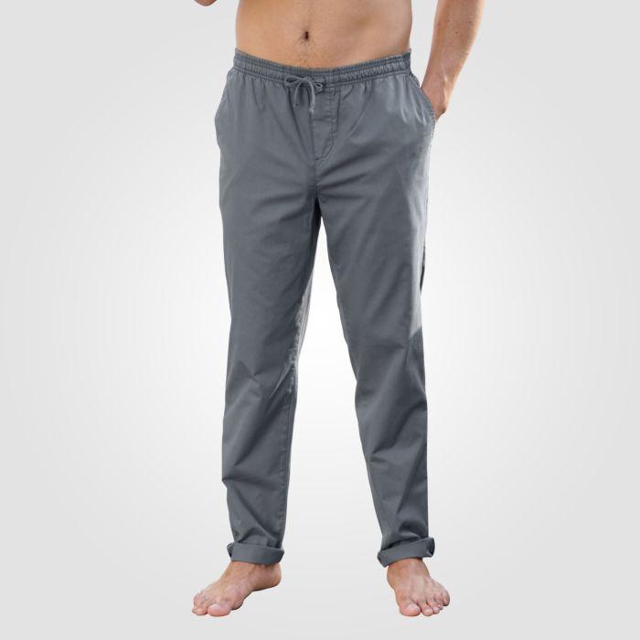 Pantalon homme, à taille élastique avec cordon