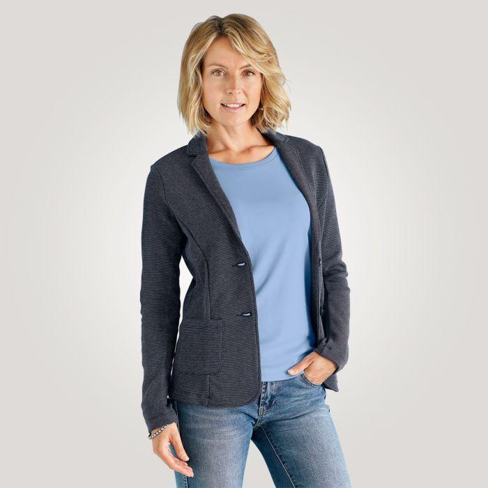 Artime Zweifarbiger Jersey-Blazer Damen