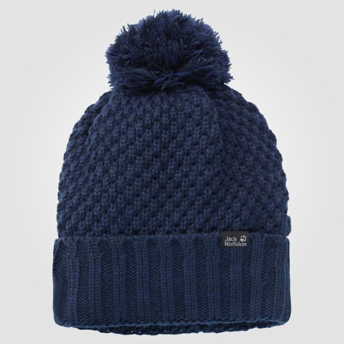 Jack Wolfskin Bommelmütze Highloft knit cap