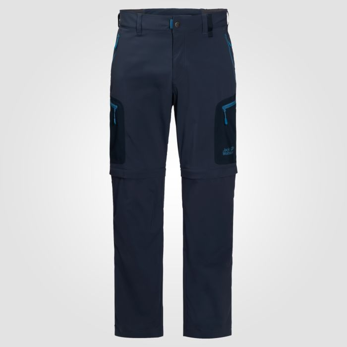 Pantalon de trekking Jack Wolfskin zip-off Active light hommes