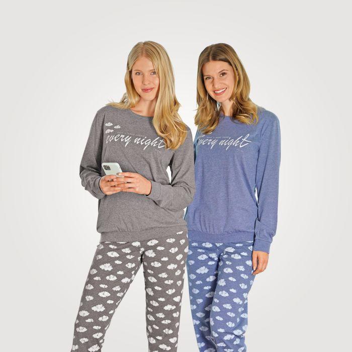 Pyjama Artime à bordures pour dames