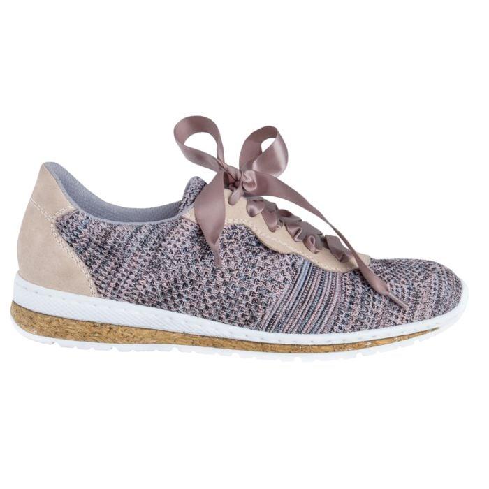 Chaussure à lacer Rieker en textile respirant et souple