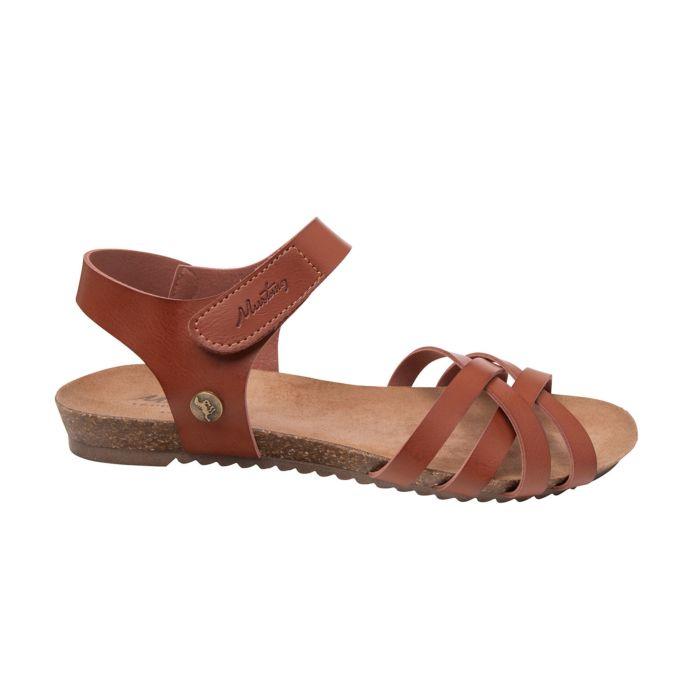 Mustang Sandalette aus weichem Softmaterial für Damen