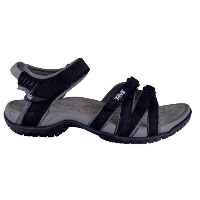 Sandale TEVA Terra Fi Lite Leather pour dames noir