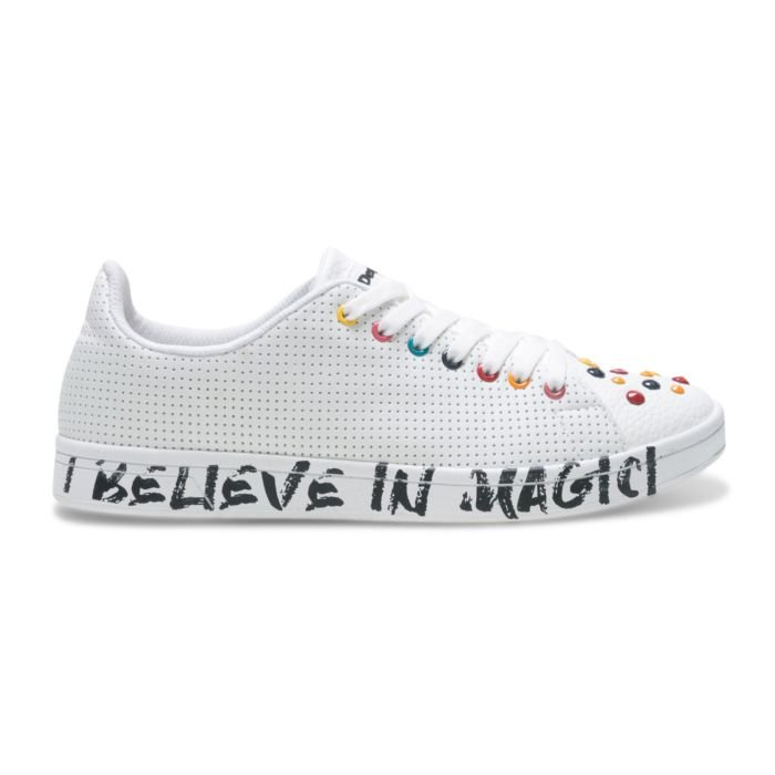 Chaussure à lacer Desigual I Believe In Magic dames blanc