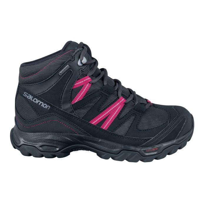 Chaussure de randonnée Salomon Shindo Mid GTX dames noir