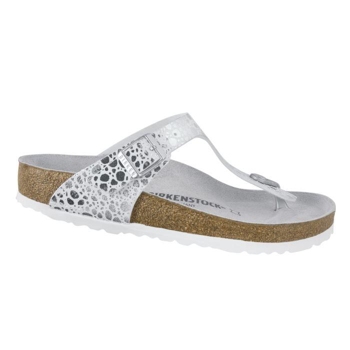 Birkenstock Gizeh sandales-tongs motifs écailles