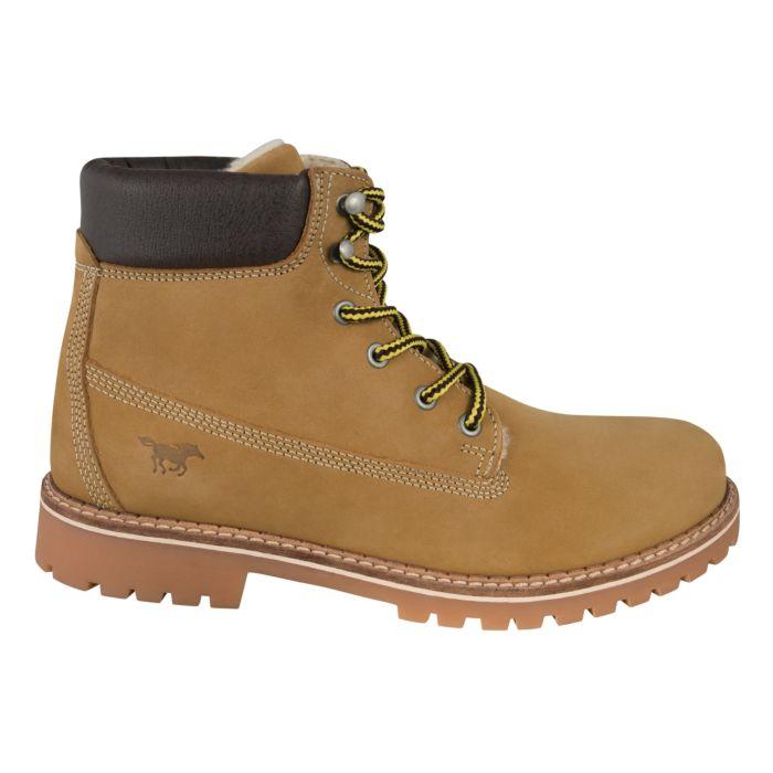 Boot Mustang pour hommes en cuir