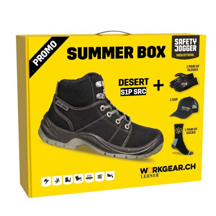 Sicherheitsschuh-Box Sommer