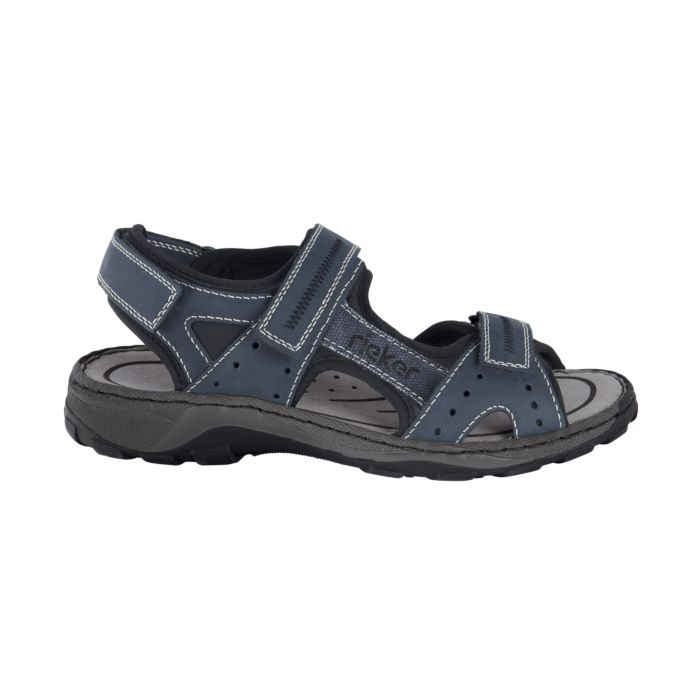 the latest f2031 9dfe2 Rieker Sandale mit Klettverschluss